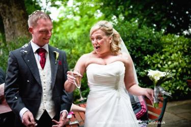 Summer wedding at Tong Holiday Inn near Bradford