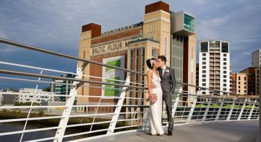 Wedding at Jesmond Dene House, Reception at The Baltic Centre, Newcastle