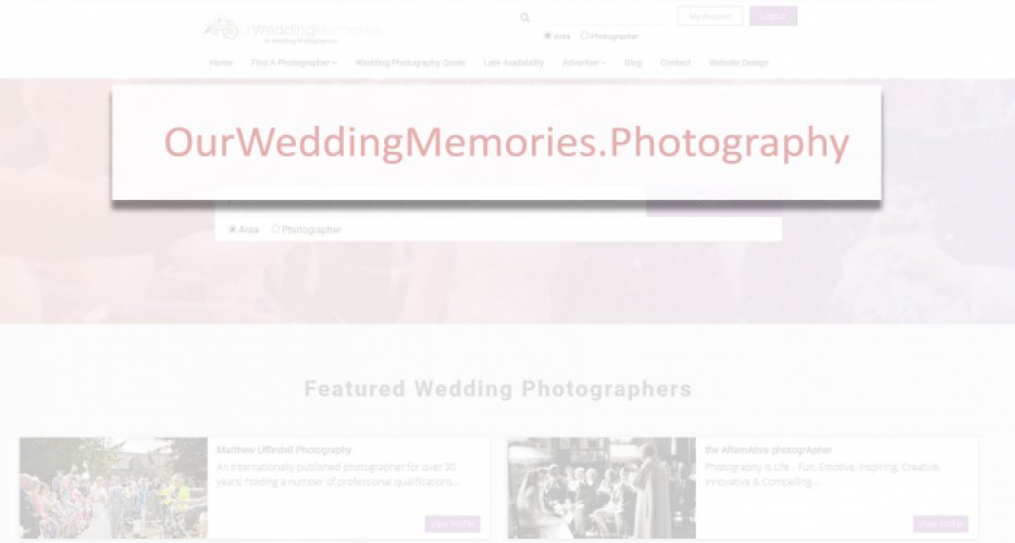 A Change of Domain For OurWeddingmemories